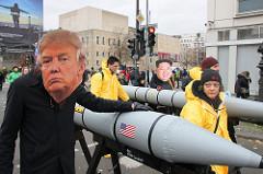 Jürgen Scheffran: Trump gegen Kim: Raketenpoker im Nordkoreakonflikt