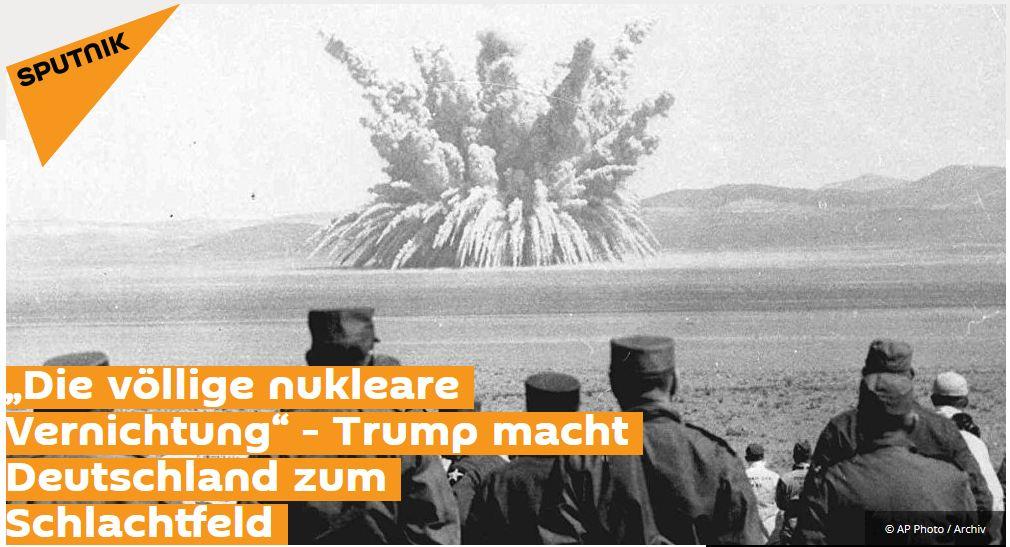 Sputnik: Droht ein globales Wettrüsten?