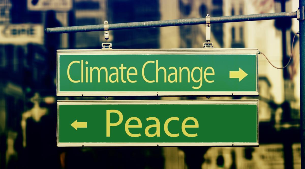 Herausforderungen für Frieden und Umwelt